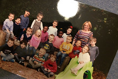 la photo de classe! (domit) Tags: isaac madame isabelle regina pacis school laeken brussels belgium class pic
