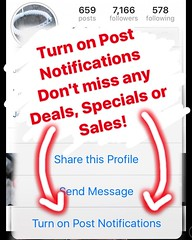 With Black Friday - Cyber Monday sales coming up make sure you have post notifications turned on! So you don't miss any of the upcoming sales, deals or specials! #blackfriday #cybermonday #carbonfiber #jenniferrayjewelry #jrj #carbonfibre #sale #shopping (JenniferRay.com) Tags: instagram carbon fiber jewelry exclusive jrj jennifer ray paracord custom