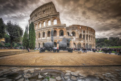 Colosseo@Roma (Alessandro Ciabini) Tags: roma rome italy italia colosseo colosseum alessandrociabini hdr