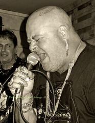 erich-bahri03 oct 16 01 (Luke b Domingo) Tags: punks punkfemale punkgig manoelislandbocciklabb funkymonkey alternativemalta punksinmalta erichpunk lukebdomingo