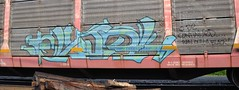 Some Random CSX Train (caboose_rodeo) Tags: 387 graffiti train autorack rocklandcountyny favorite