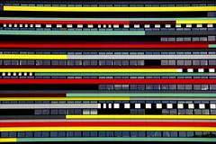 Schichtsalat (Mastahkid) Tags: mastahkid utrecht niederlande nederland thenetherlands universitt university gebude building farben colours linien lines fenster windows ontourwithmyego