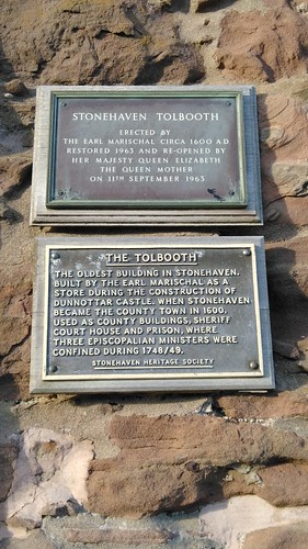 Stonehaven Tolbooth plaque
