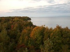 Tower to Lake Erie (billielelle) Tags: erie bluffs