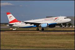 AIRBUS A320 214 Austrian OE-LBS 1189 Frankfurt aout 2016 (paulschaller67) Tags: airbus a320 214 austrian oelbs 1189 frankfurt aout 2016