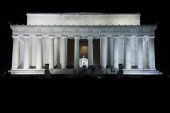 Lincoln Memorial @ Night  (8) (smata2) Tags: lincolnmemorial washingtondc dc nationscapital canon monument memorial postcard