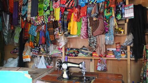 Djibouti_2014 - Boutique de couturier à Tadjourah