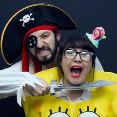 You're mine Sponge! (Max Valenzuela) Tags: halloween portrait costume retrato costumes cosplay funny nochedebrujas nick nickelodeon spongebob