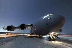 (aeroman3) Tags: royalairforce raf equipment aircraft transport globemaster c17 operation op campaign herrick afghanistan afganistan helmand