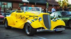 yellow hotrod (try...error) Tags: gelb hot rod v8 yellow fuji fujifilm fujinon xf35 xf 35 xpro1 xpro