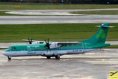 Aer Lingus Regional (Op by Stobart Air) ATR72-600 EI-FAV taxiing at MAN/EGCC (AviationEagle32) Tags: manchester man manchesterairport manchesteravp manchesterairportatc manchesterairportt1 manchesterairportt2 manchesterairportt3 egcc unitedkingdom uk cheshire airport aircraft airplanes apron aviation aeroplanes avp aviationphotography airbus aviationlovers avgeek aviationgeek aeroplane airplane planespotting planes plane flying flickraviation flight vehicle tarmac aerlingus aerlingusregional shamrock stobartair atr atr72 atr72600 atr726 eifav turboprop propellers