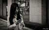 The modern Korean woman (gunman47) Tags: 2016 asia asian b bw korea korean mono monochrome myeongdong october rok republic seoul sepia south w beautiful black candid mobile modern people phone photography smartphone street white woman 서울 southkorea depth field
