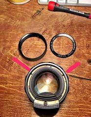 Pentax Super-Multi-coated Takumar f/1.4/50mm lens. (Gregory Heath) Tags: focusringrepair 50mmf14 pentax