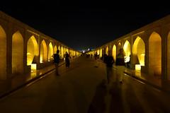 iran_004 (muddycyclist) Tags: panasonic lumix lx7 iran isfahan esfahan bridge night