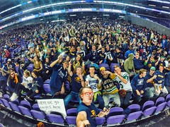 TG Student Section (YaBoyReggie) Tags: totinograce football championship state champs undefeated student section crowd gopro minneapolis vikings bank eagles