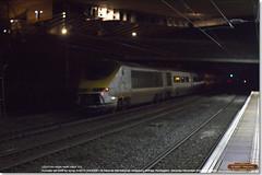 Eurostar set 3019 dragged through Huntingdon for scrap in 6X73, December 3rd 2016 d (Bristol RE) Tags: 6x73 eurostar 373 class373 373019 3019 45201 huntingdon gbrf scrap emr europeanmetalrecycling