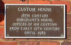 Custom House / plaque (Images George Rex) Tags: weymouth dorset uk georgian england photobygeorgerex unitedkingdom britain imagesgeorgerex customhouse customhousequay englishbondbrickwork gradeiilisted