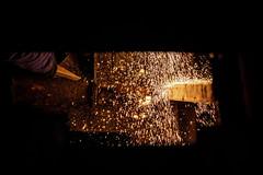 Fire down below! (hehaden) Tags: welding sparks pier brightonpier palacepier brighton sussex sel70200g