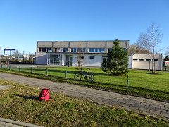 Sporthalle Sprengmeisterweg (fchmksfkcb) Tags: rostock mecklenburgvorpommern mecklenburg mecklenburgwesternpomerania