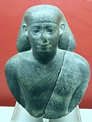 """Head of a King with nemes"" (1350-1295 BC) - Egyptian collection - Naples, Archaeological Museum (Carlo Raso) Tags: egypt naples archaeologicalmuseum king"
