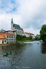 Cesky Krumlov (Martin.C_ZJU) Tags: travel vacation church nature river nikon europe czech weekend tourists lonelyplanet  ceskykrumlov          ck d800e