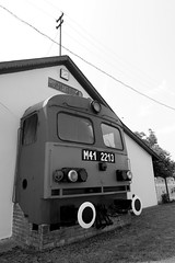 Mszike (Tibor978) Tags: 20d station engine m41 2213 lloms csrg pusztaketts mszike