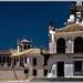 Die Eremitage von El Rocío (Ermita de la Virgen del Rocío) Provinz Huelva, Spanien