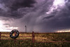 (Chains of Pace) Tags: storm oklahoma windmill sign fence landscape us unitedstates sony prairie panhandle guymon
