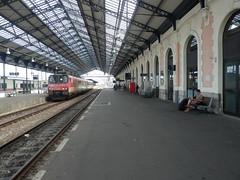P8161088 (jon_zuniga1) Tags: espaa france train tren spain gare trainstation estacion francia espagne basquecountry sncf hendaye renfe euskotren paisvascofrances handaya