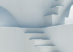 Bright Light - Greek chapel, stairs (panoround hutter) Tags: stairs art arte chapel white explore photography photo treppen greece ttot travel colores color structures architecture kirche light hutter hutterdesign panoroundhutter blanc