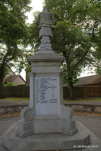 New Elgin War Memorial