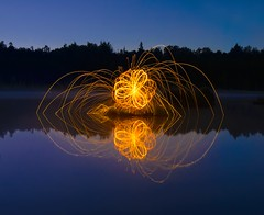 Freezelight (dack993) Tags: longexposure lightpainting night nightshot firepainting freezelight