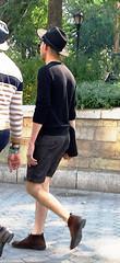 rebbe (PeepHole of New York) Tags: blacksweater widebrimmedhat amishhat broadbrimmedhat pharrellhat