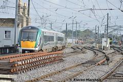 22061+22060 arrive at Connolly, 28/9/15 (hurricanemk1c) Tags: dublin irish train rail railway trains railways irishrail rok rotem 2015 icr connolly iarnród 22000 éireann iarnródéireann 22061 3pce newcomenjunction 1010maynoothpearse