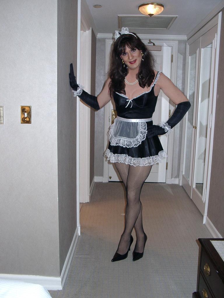 Sexy Sissy Crossdressers Halloween 52