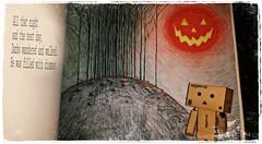 Ode to Jack (Skellington) Part 1 (karmenbizet73) Tags: art halloween toys photography flickr ode toystory jackskellington secretlifeoftoys nightmarebeforechristmas eyespy danbo 237365 danboard photodevelopment herecomeshalloween danbolove toysunderthebed 2015365photos