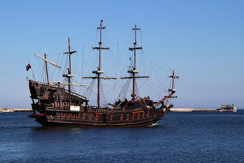 Ship in Gdynia