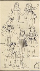 2015-10-14 1947 girl dresses (april-mo) Tags: girls children pattern dress 1947 vintagemagazine vintagepattern the1940s girldresses vintagefrenchmagazine 1947childdress