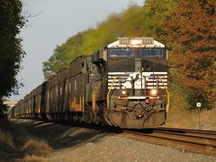 Norfolk Southern Chicago Line / MP 457 Westbound (codeeightythree) Tags: ns coal norfolksouthern coaltrain norfolksouthernrailroad nscoal norfolksouthernchicagoline hitopgons