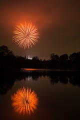 (Chris Galvin Photography) Tags: lake reflection liverpool fireworks places seftonpark bonfirenight guyfawkesnight november5th