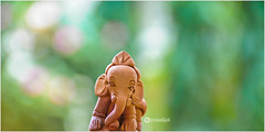 Happy Children's Day (Ramalakshmi Rajan) Tags: ganesha nikon doll dolls bokeh naturallight idol tabletop lordganesha childrensday pillayar nikond5000 ramalakshmirajan nikkor18140mm