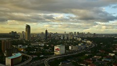 Manila, Philippines downtown sunset time-lapse (stevenpng) Tags: sunset timelapse downtown time philippines manila summit nikkor economic lapse apec f4g 2015 1635mm sraw d810