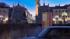 Piazza San Carlo (albi_tai) Tags: auto torino nikon persone d750 fantasma piazzasancarlo mosso lungaesposizione lte tempilunghi albitai