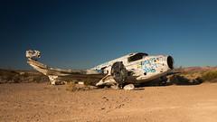 Stone Birds (Wayne Stadler Photography) Tags: old abandoned plane junk desert crash crashed aircraft planes derelict junked
