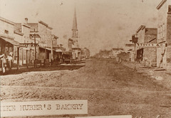 Early Portage Street Scene