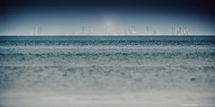 Bahrain from Saudi Arabia (Bakar_88) Tags: city sea skyline island bahrain nikon asia gulf skyscrapers country saudiarabia manama lightroom ksa boarders khobar البحرين kingdomofbahrain gulfcountry nikond90 almanama المنامة arabgulf almanāmah