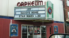 AT THE MOVIES IN SAUGERTIES NY DEC 2015 (richie 59) Tags: winter usa ny newyork building america outside us theater unitedstates upstate upstatenewyork movies newyorkstate oldbuilding orpheum movietheater nys brickbuilding nystate hudsonvalley weekday saugerties 2015 ulstercounty oldtheater midhudsonvalley route9w midhudson ulstercountyny saugertiesny thirsday ushighway us9w 2010s rt9w richie59 dec2015 dec312015
