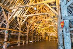 Les halles de Dives-Sur-Mer (eric.benoit@35mm) Tags: wood market halle bois divessurmer