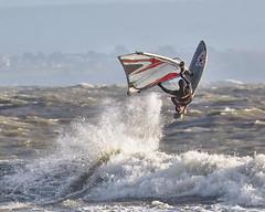 PC311478-Edit (Brian Wadie Photographer) Tags: gulls oystercatcher windsurfing kiting em1 goodlight 14xtc avonbeach canon70300lis hemgistburyhead