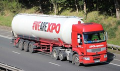 RENAULT Premium - XPOLogistics (scotrailm 63A) Tags: lorries trucks tankers